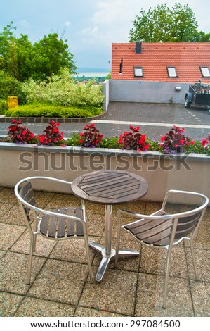 Chair, restaurant, calm, wellness, holiday, flower