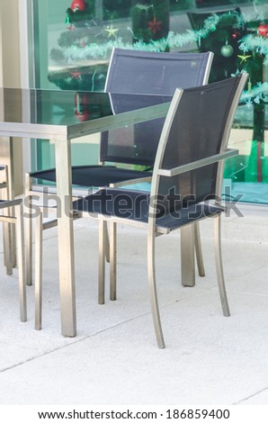 Chair table interior