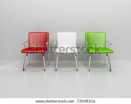 chairs in the room