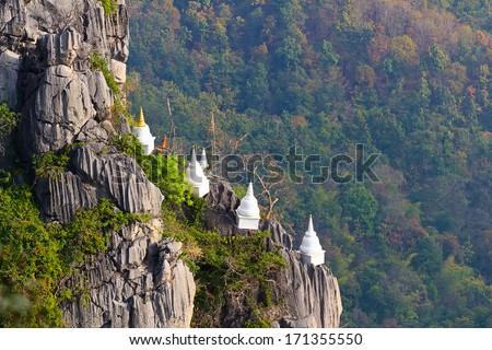 Chalermprakiet Temple , Lampang , Thailand - stock photo