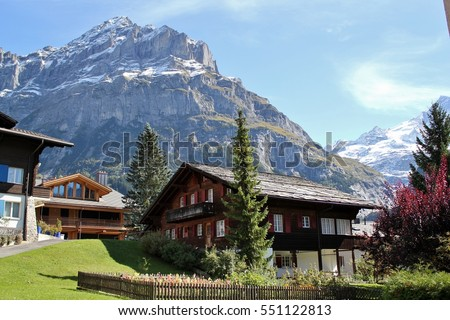 Chalet in Grindlewald, Switzerland