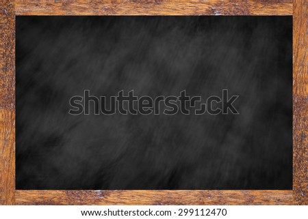 chalk board background texture with old vintage wooden frame,blackboard concept.empty education backdrop:use for work about backgrounds,design,banner,template,decorate,business,education and etc. - stock photo