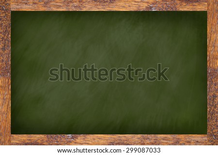 chalk board background textures with old vintage wooden frame ,blackboard concept.use for work about backgrounds,design,decorate,business,education and etc.