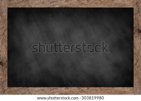 background textures with old vintage wooden frame ,blackboard concept ...