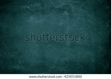 Chalk rubbed out on blackboard for background. grunge Chalk rubbed wall. Chalkboard Texture background for add text. - stock photo