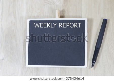 Weekly Tip Photos RoyaltyFree Images Vectors Shutterstock – Weekly Report Writing