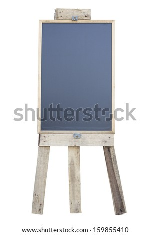 Chalkboard labels for a price. on white background