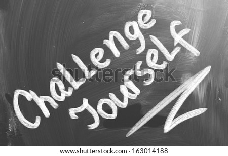 Challenge Yourself Concept - stock photo