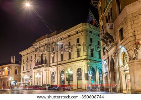 Chamber of Commerce of Ferrara - Italy - stock photo