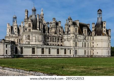Chambord Castle 1519 Originally A Hunting Lodge For King Francois I