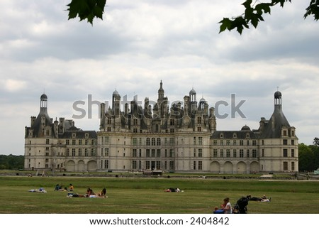 Chambord Castle, the biggest castle at Loire River