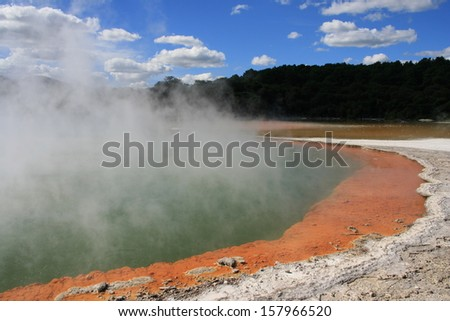 Champagne Pool - New Zealand