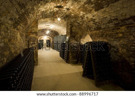Champagne Winery, Epernay, Champagne Region, France