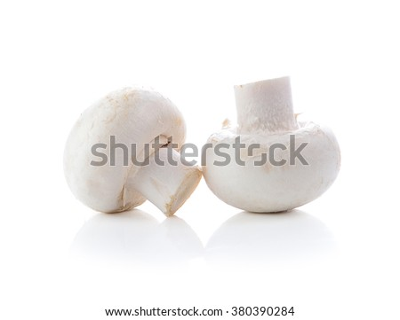 Champignon Isolated on White Background