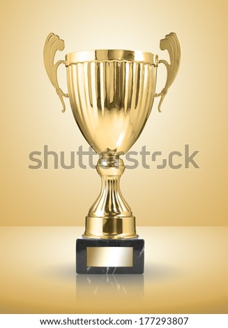 champion golden trophy