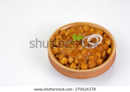 Chana masala  - stock photo