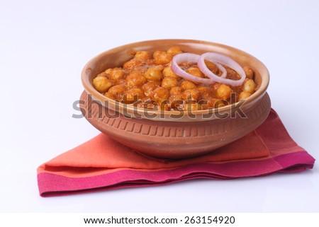 Chana masala, chickpeas  - stock photo