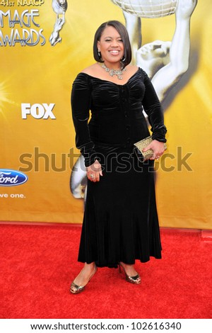 Chandra Wilson  at the 41st NAACP Image Awards - Arrivals, Shrine Auditorium, Los Angeles, CA. 02-26-10