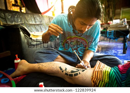 Tattoo convention stock images royalty free images for Bangkok tattoo prices