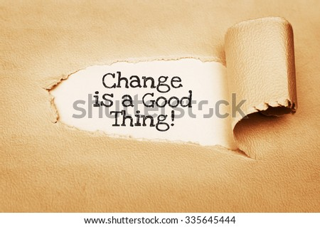 essays on is change a good thing Writing an essay at times may be quite problematic you need to remember about so many things you need keep the structure crisp, keep the arguments clean cut, text must be readable, there must be no factual or grammar mistakes, the narrative must be smooth and the paragraph breaks must be visible.