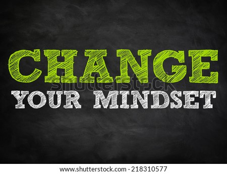 how to change your mindset book