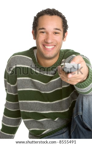 Changing Channels - stock photo