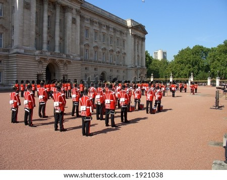 Changing of the Guard - stock photo