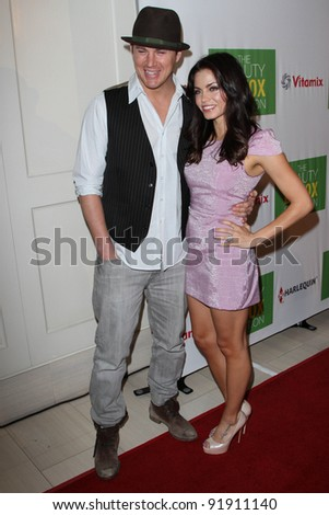 "Channing Tatum and Jenna Dewan-Tatum at ""The Beauty Detox Solution"" Book Launch Party, London, West Hollywood, CA. 04-13-11"