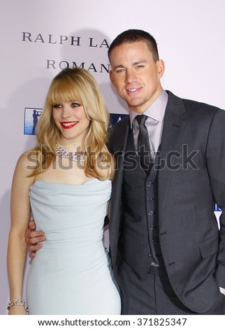 "Channing Tatum and Rachel McAdams at the Los Angles Premiere of ""The Vow"" held at the Grauman's Chinese Theater, California, United States on February 6, 2012."