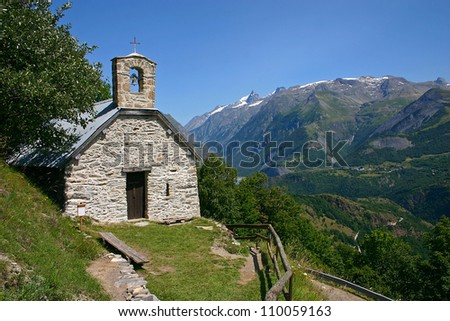 Chapel in the French Alps