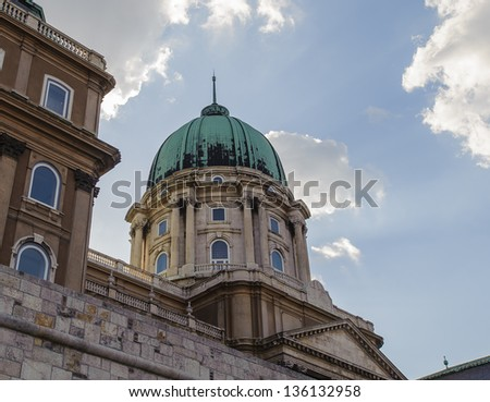 Chapel of the Buda Castle, Budapest, Hungary