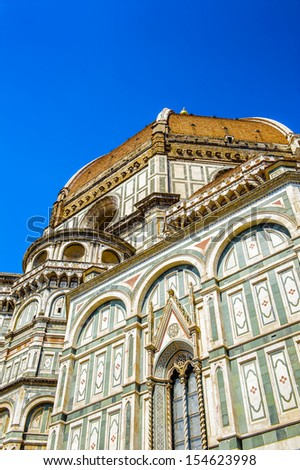 Chapel of the Florence Cathedral - stock photo