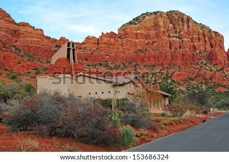 Chapel of the Holy Cross Sedona, Arizona, USA - stock photo