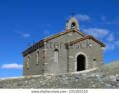Chapel on the Gornergrat in Zermatt, Switzerland