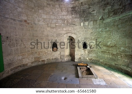 Chapell of the Ascension of Jesus Christ, Jerusalem