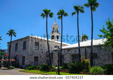 Chaple of a british colony in bahamas