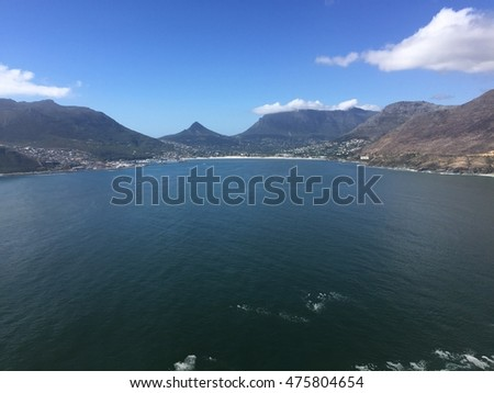 Chapman's Peak view on a summer day
