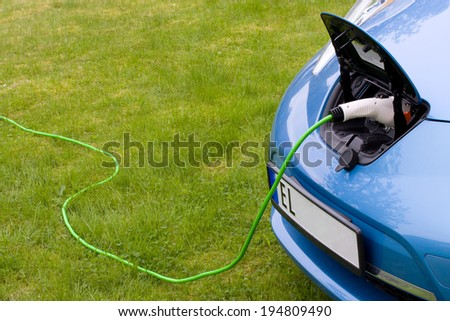 Charging a modern electric car