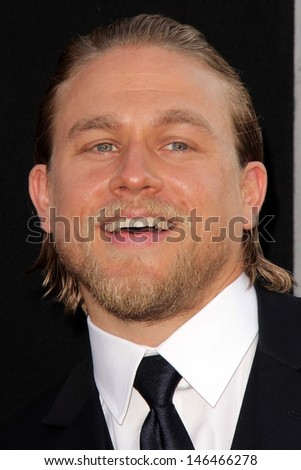 "Charlie Hunnam at the ""Pacific Rim"" Los Angeles Premiere, Dolby Theater, Hollywood, CA 07-09-13"