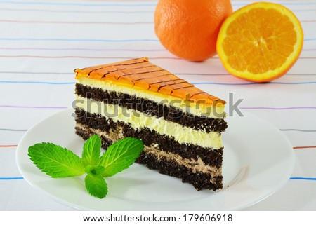 Orange Flavored Chocolate Cake Recipe — Dishmaps
