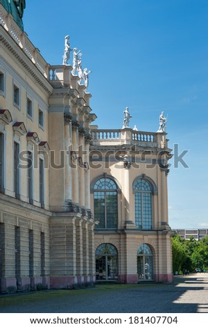 Charlottenburg Castle. Berlin, Germany.