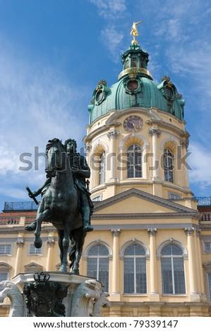 Charlottenburg Palace - stock photo