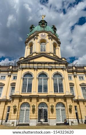 Charlottenburg Palace. Berlin. - stock photo