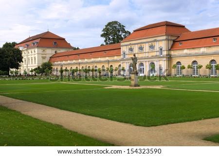 Charlottenburg Palace Orangery. Berlin. - stock photo