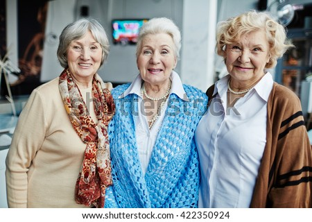 Charming ladies - stock photo
