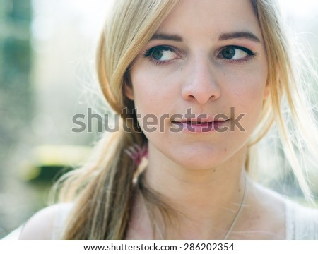 Charming woman - stock photo