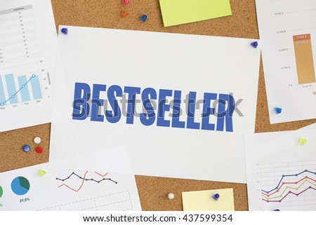 CHART BUSINESS GRAPH RESULT COMPANY BESTSELLER CONCEPT - stock photo