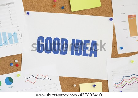 CHART BUSINESS GRAPH RESULT COMPANY GOOD IDEA CONCEPT - stock photo