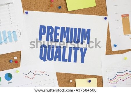 CHART BUSINESS GRAPH RESULT COMPANY PREMIUM QUALITY CONCEPT - stock photo