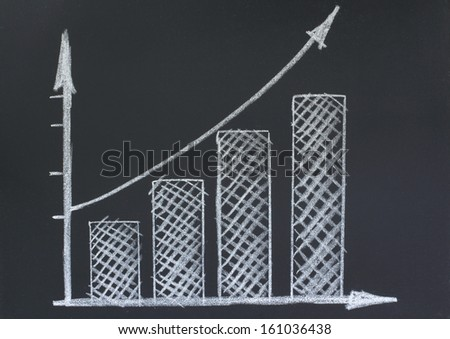 chart image with chalk on a blackboard